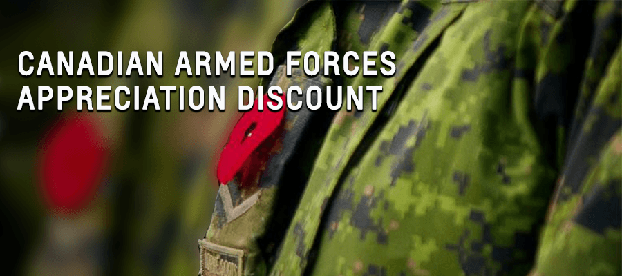 Canadian Armed Forces Appreciation Discount | GM Programs & Incentives