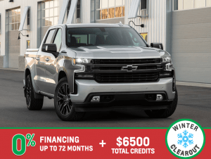 2019 Silverado RST -Winter Clearout Event