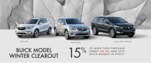 December Buick Offer | Winter Clearout Event