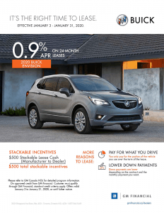 2020 Buick Envision Lease Offer