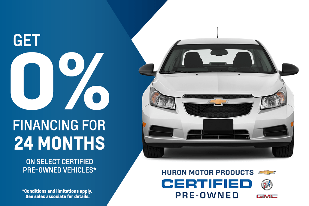 Certified Pre-Owned 0 Percent Financing