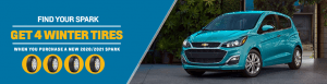 New Chevrolet Spark | Winter Tire Promo