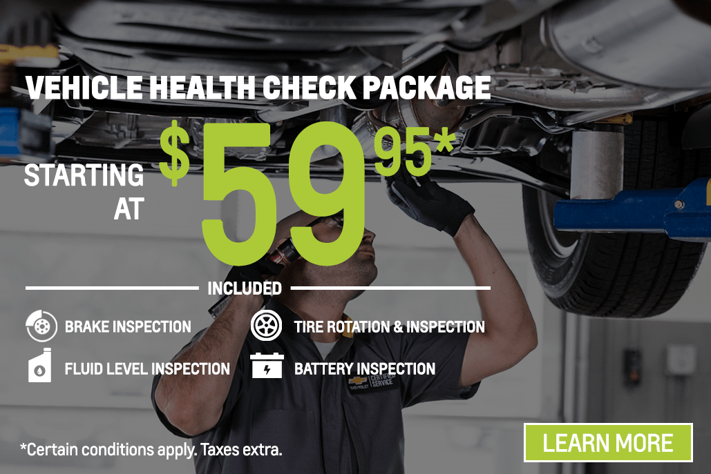 Vehicle Health Check Package | Huron Motor Products